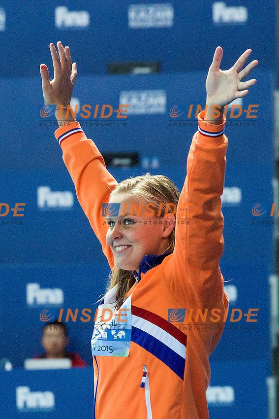 VAN ROWENDAAL Sharon NED<br /> 400 Freestyle Women Final Silver Medal<br /> Swimming Kazan Arena<br /> Day10 02/08/2015<br /> XVI FINA World Championships Aquatics Swimming<br /> Kazan Tatarstan RUS July 24 - Aug. 9 2015 <br /> Photo G.Scala/Deepbluemedia/Insidefoto