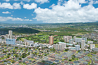 Aerial view of Honolulu Country Club