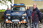 Sean Tangney with fellow Kerry Mountain Rescue members John Cronin left and Alan Wallace