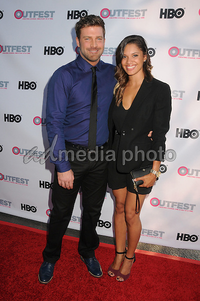 """10 July 2015 - West Hollywood, California - Houston Rhines. """"Jenny's Wedding"""" World Premiere - 2015 Outfest LA Film Festival held at the DGA Theatre. Photo Credit: Byron Purvis/AdMedia"""