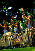 Prince Lot hula festival performance at Moanalua gardens, Oahu