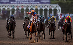 November 2, 2019: Vino Rosso, ridden by Irad Ortiz, Jr., wins the Longines Breeders' Cup Classic on Breeders' Cup World Championship Saturday at Santa Anita Park on November 2, 2019: in Arcadia, California. /7400534//Eclipse Sportswire/CSM