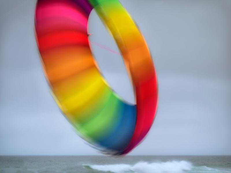Kite at Lincoln City Kite Festival. Oregon Coast.