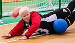 Whitney Bogart, Rio 2016 - Goalball. <br /> Team Canada competes in Women's Goalball preliminary against China // Équipe Canada participe aux préliminaires du goalball féminin contre la Chine. 12/09/2016.