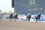 March 27, 2021: REBEL'S ROMANCE #10 ridden by William Buick wins The Group 2 UAE Derby for Charlie Appleby  on Dubai World Cup Day, Meydan Racecourse, Dubai, UAE. Shamela Hanley/Eclipse Sportswire/CSM