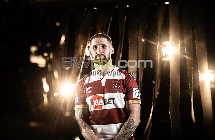 Picture by Allan McKenzie/SWpix.com - 08/10/2018 - Rugby League - Betfred Super League Grand Final Preview - Old Trafford, Manchester, England - Sam Tomkins carrying out promotional videos.
