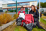 Ursulla Coffey Principal left and Triona Sheehy who are appealing for clothes donations for their charity collection in aid of India