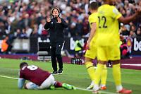 3rd October 2021;   City of London Stadium, London, England; EPL Premier League football, West Ham versus Brentford; Brentford Manager Thomas Frank