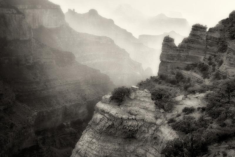 Thunderstorm at Cape Royal. Grand Canyon National Park, Arizona