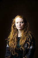 Fiona Hollow, 18, student in theatre studies, from Edinburgh.<br /> <br /> 'I have lived in Scotland my whole life and known quite a few gingers but a lot of them dyed their hair! I am the only one left. I think they were all, like - 'we want a change.'. A few have gone back but its not the same.  I like my hair.'<br /> <br /> 'The pro and the con is you stick out in a crowd. Sometimes you are not aware until they mention it - a little dig. Sometimes 'You've such a nice hair colour or ugh ginger'. No one is very inventive.'<br /> <br /> 'We have a reputation for being angry and feisty but most I know are very outgoing. Maybe we are strengthened because you were called names growing up.'