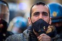 18.02.2021 - Italian Left Demo Against Mario Draghi's Government