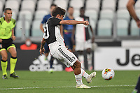 Paulo Dybala of Juventus scores a goal<br /> during the Serie A football match between Juventus FC and US Lecce at Juventus stadium in Turin  ( Italy ), June 26th, 2020. Play resumes behind closed doors following the outbreak of the coronavirus disease. Photo Andrea Staccioli / Insidefoto