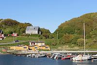 Hafen von Hammerhavn auf der Insel Bornholm, Dänemark, Europa<br /> Port of Hammershavn, Isle of Bornholm, Denmark