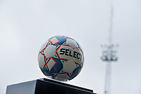 match ball pictured before a female soccer game between Eendracht Aalst and OHL on the 13 th matchday of the 2020 - 2021 season of Belgian Scooore Womens Super League , Saturday 6 th of February 2021  in Aalst , Belgium . PHOTO SPORTPIX.BE   SPP   STIJN AUDOOREN