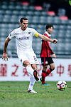 Auckland City Defender Angel Berlanga in action during the 2017 Lunar New Year Cup match between Auckland City FC (NZL) vs FC Seoul (KOR) on January 28, 2017 in Hong Kong, Hong Kong. Photo by Marcio Rodrigo Machado/Power Sport Images