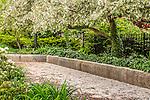 The Southwest Corridor Park in the South End neighborhood, Boston, Massachusetts, USA