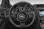 Car pictures of steering wheel view of a 2017 Jaguar F-Type S 3 Door Coupe 2WD Steering Wheel