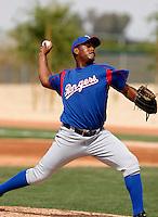 Fabio Castillo - Texas Rangers - 2009 spring training.Photo by:  Bill Mitchell/Four Seam Images