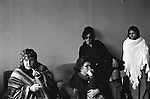 Erin Pizzey.  Chiswick Women Aid Shelter for Battered Women. Richmond  London England 1975. Morning meeting.
