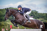 Le Grand Complet 2020. Haras du Pin. CCIO4*. Jumping.  <br /> Bruce HASKELL (NZL). AMIRO SKY<br /> Photographie FEI / Eric KNOLL
