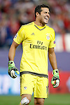 SL Benfica's Julio Cesar during Champions League 2015/2016 match. September 30,2015. (ALTERPHOTOS/Acero)