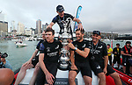 America's Cup finals DAY 7. RACE 10 <br /> 36th America's Cup. Emirates Team New Zealand v Luna Rossa Prada Pirelli. <br /> Wednesday 17 March 2021.<br /> Auckland<br /> New Zealand