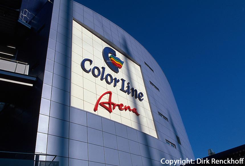 Deutschland, Colorline-Arena in Hamburg