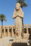 Temples of Karnak, Statues of Ramses II