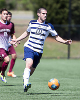 The College of Charleston Cougars played the  Georgia Southern Eagles in The Manchester Cup on April 5, 2014.  The Cougars won 2-0.  Dustin Gamradt (10)