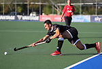 Zander Fraser. Men's North v South hockey match, St Pauls Collegiate, Hamilton, New Zealand. Saturday 17 April 2021 Photo: Simon Watts/www.bwmedia.co.nz