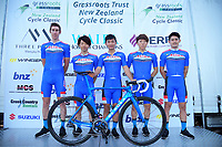 AISAN Racing Team (Japan). 2019 Grassroots Trust NZ Cycle Classic UCI 2.2 Tour at St Peter's School in Cambridge, New Zealand on Tuesday, 22 January 2019. Photo: Dave Lintott / lintottphoto.co.nz