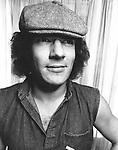 AC/DC 1983 Brian Johnson.© Chris Walter.