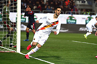 Nikola Kalinic of AS Roma celebrates after scoring the goal of 1-1 <br /> Cagliari 01/03/2020 Sardegna Arena <br /> Football Serie A 2019/2020 <br /> Cagliari Calcio - AS Roma    <br /> Photo Gino Mancini / Insidefoto