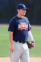 January 16, 2010:  Kevin Koziol (Orland Park, IL) of the Baseball Factory American Team during the 2010 Under Armour Pre-Season All-America Tournament at Kino Sports Complex in Tucson, AZ.  Photo By Mike Janes/Four Seam Images