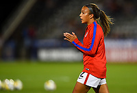 Commerce City, CO - Friday September 15, 2017: Mallory Pugh during an International friendly match between the women's National teams of the United States (USA) and New Zealand (NZL) at Dick's Sporting Goods Park.