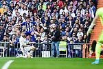 Real Madrid's Nacho Fernandez and Deportivo Alaves's Ibai Gomez during La Liga match between Real Madrid and Deportivo Alaves at Stadium Santiago Bernabeu in Madrid, Spain. April 02, 2017. (ALTERPHOTOS/BorjaB.Hojas)