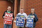 Hospital Protest against Cuts at the Lourdes Hospital