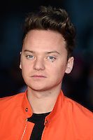 "Connor Maynard<br /> at the ""Batman vs Superman: Dawn of Justice"" premiere, Odeon Leicester Square, London<br /> <br /> <br /> ©Ash Knotek  D3101 22/03/2016"