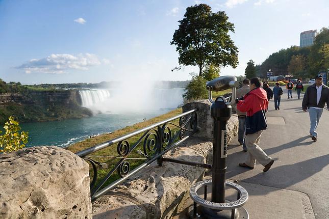 Niagara Falls from Canada overlook