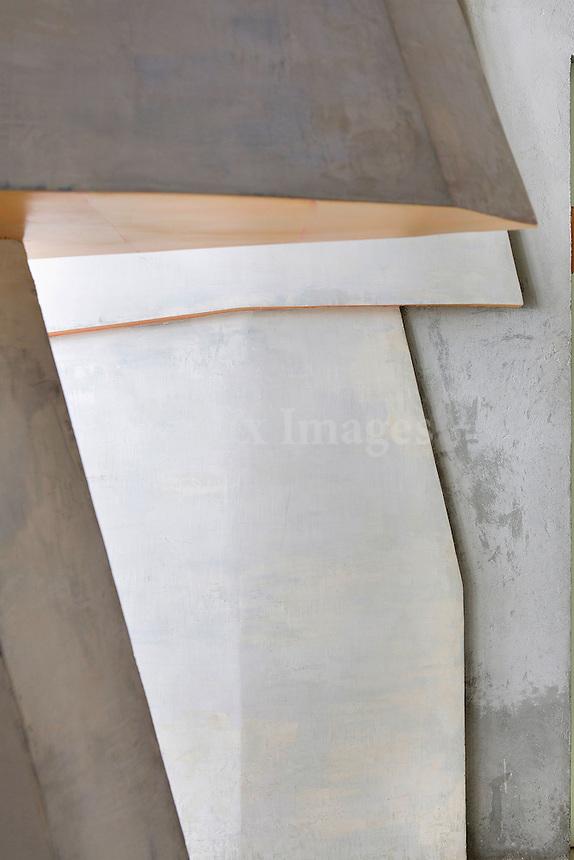 white art column