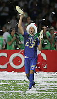 Marco Materazzi.  Italy defeated France on penalty kicks after leaving the score tied, 1-1, in regulation time in the FIFA World Cup final match at Olympic Stadium in Berlin, Germany, July 9, 2006.