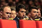 Chris Froome (GBR), Egan Bernal (COL) and Julian Alaphilippe (FRA) at the Tour de France 2020 route presentation held in the Palais des Congrès de Paris (Porte Maillot), Paris, France. 15th October 2019.<br /> Picture: Eoin Clarke | Cyclefile<br /> <br /> All photos usage must carry mandatory copyright credit (© Cyclefile | Eoin Clarke)