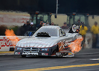 Oct. 8, 2012; Mohnton, PA, USA: NHRA funny car driver Jack Beckman during the Auto Plus Nationals at Maple Grove Raceway. Mandatory Credit: Mark J. Rebilas-