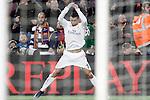 Real Madrid's Cristiano Ronaldo celebrates goal during La Liga match. April 2,2016. (ALTERPHOTOS/Acero)