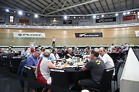 VIP and Guests during the UCI Cycling World Cup at the Avantidrome, Cambridge, New Zealand, Sunday, December 06, 2015. Credit: Dianne Manson/CyclingNZ/UCI