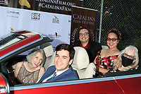 LOS ANGELES - SEP 26:  JC Henning, Cameron Penn, Ezra Player, Citadel Penn, and Marbry Steward at the Catalina Film Festival Drive Thru Red Carpet, Saturday at the Scottish Rite Event Center on September 26, 2020 in Long Beach, CA