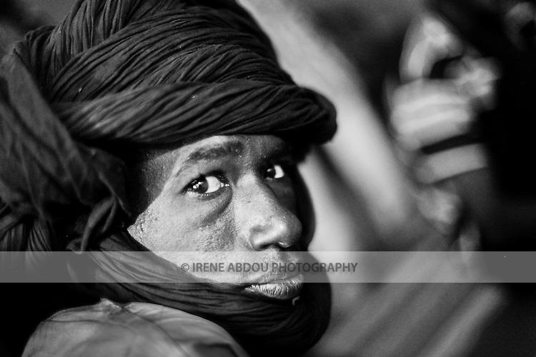 Fulani man from a small village in northern Burkina Faso.