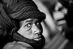 Fulani man from a small village in northern Burkina Faso.
