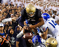 10/5/19: Photography coverage of the Navy v. Air Force game Saturday afternoon at Navy-Marine Corps Memorial Stadium in Annapolis, Maryland.<br /> <br /> Charlotte Photographer - Patrick SchneidePhoto.com