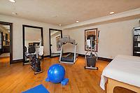 stock image of home gym